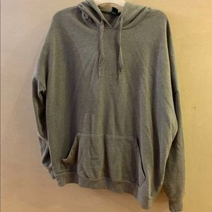 UsedOnce XXL Wild Fable Gray Hoodie